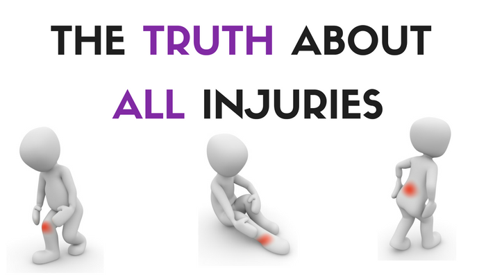 The TRUTH Behind ALL Injuries (know this and you'll never be injured again)