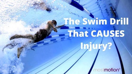 The swim drill that CAUSES shoulder pain