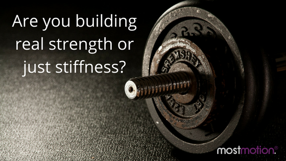 Is Your Training Building Strength or Stiffness?