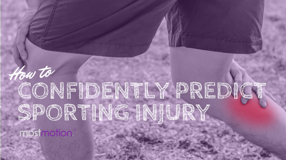 How to Confidently Predict Sporting Injury
