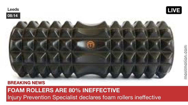 Why Foam Rollers Are 80% Ineffective