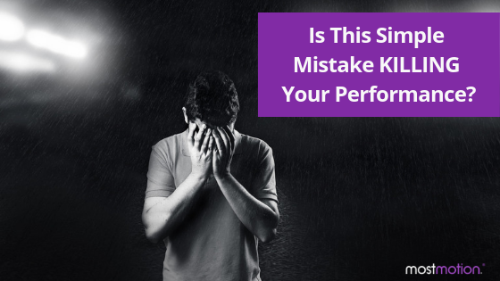 Is this simple mistake KILLING your results?