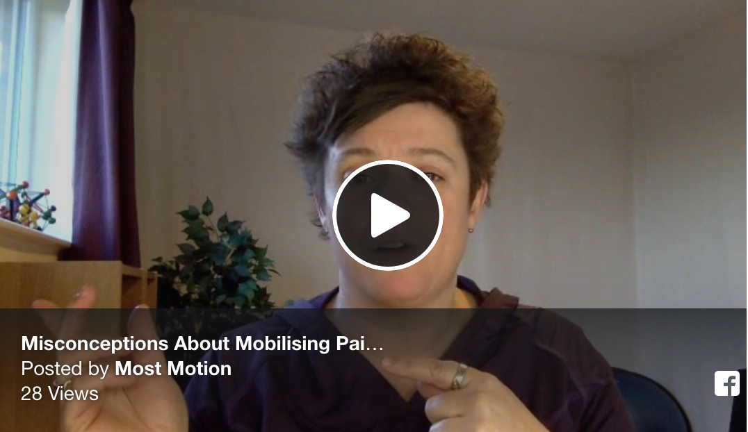 Misconceptions About Mobilising Painful Joints