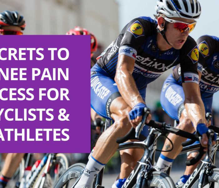 3 Secrets to Knee Pain Success For Cyclists and Triathletes