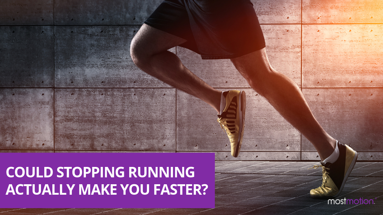 Could STOPPING running actually make you run faster?