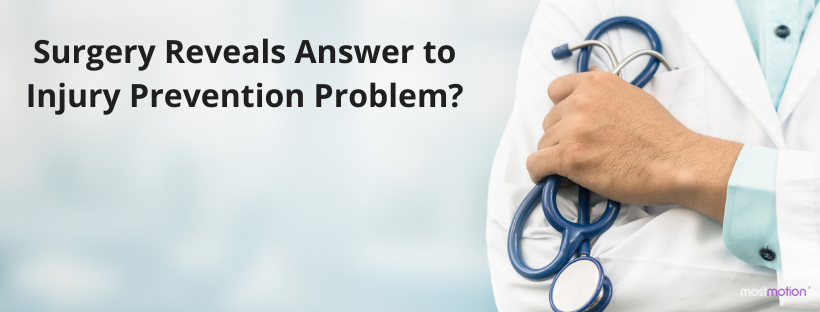 Surgery to remove a lump reveals answer to injury prevention problem?