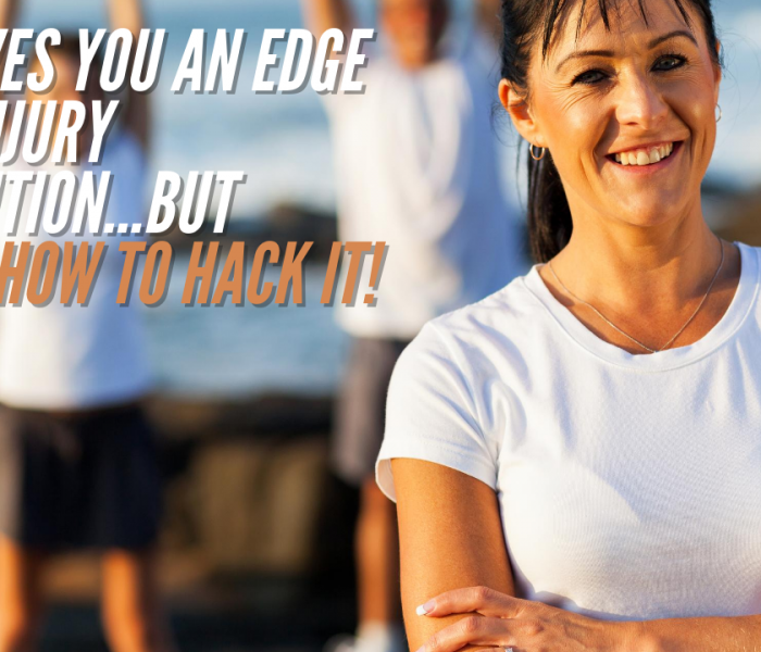 Age Gives You An Edge With Injury Prevention – But Here's How to Hack It!