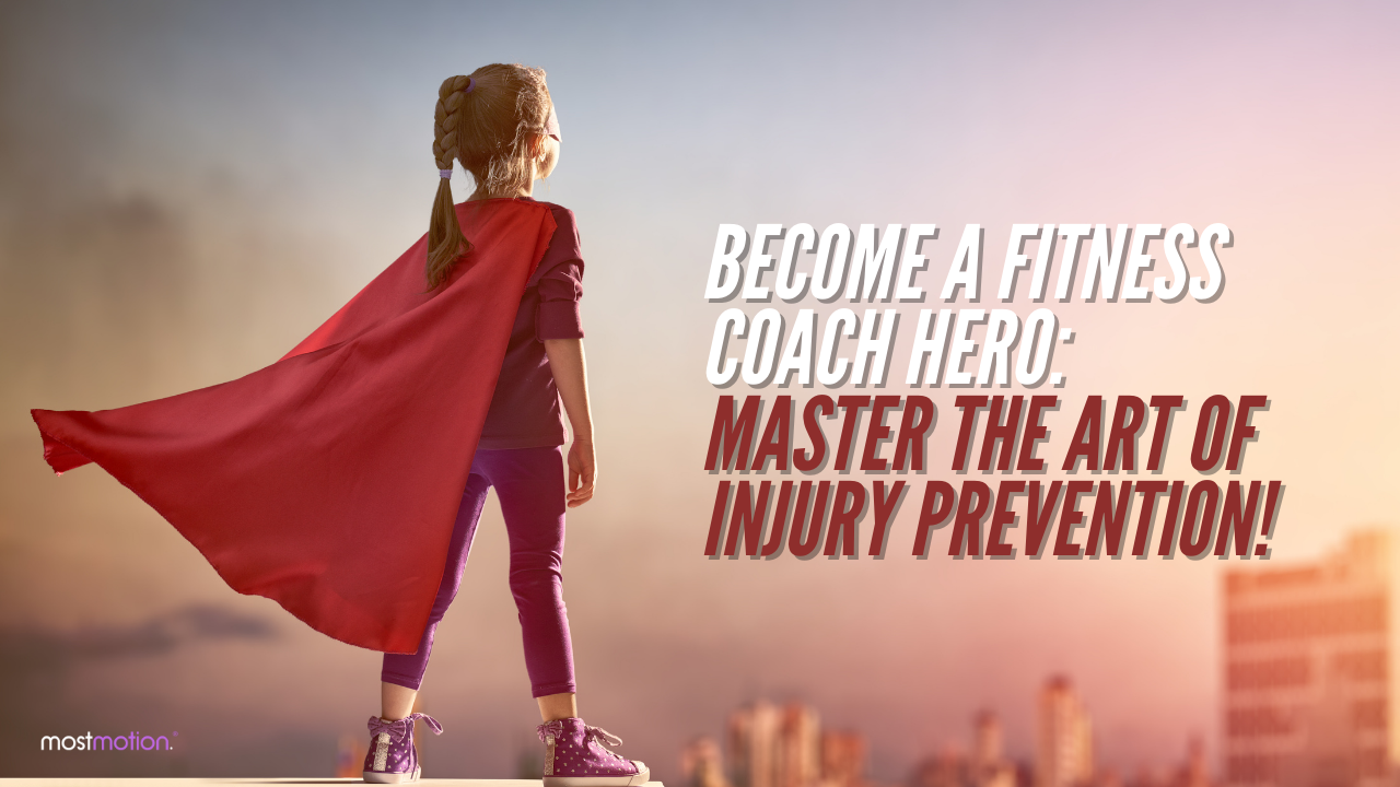Become a Fitness Coach Hero: Master the Art of Injury Prevention! [VIDEO]