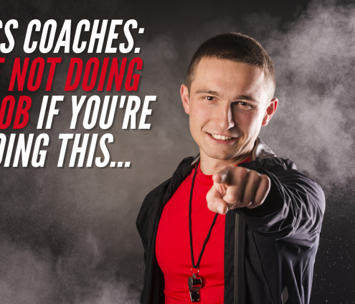 Fitness Coaches: You're Not Doing Your Job If You're Not Doing This…
