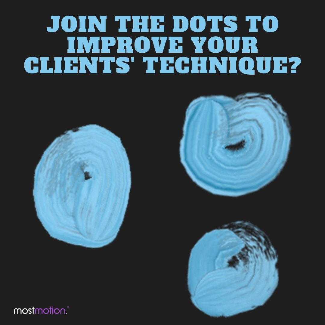 """""""Join-the-dots"""" to improve your clients' technique?"""