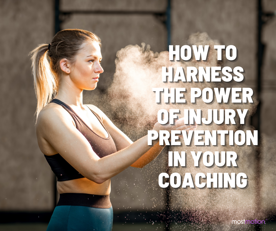 How to Harness the Power of Injury Prevention in Your Coaching