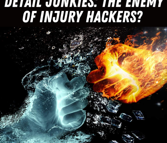 Detail Junkies: The Enemy of Injury Hackers?