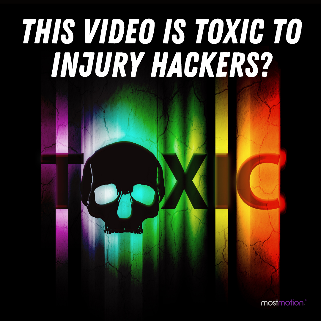 This Video is Toxic to Injury Hackers?