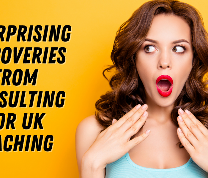 5 Surprising Discoveries From Consulting For UK Coaching